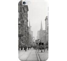 Vintage Fifth Avenue Photograph (1912) iPhone Case/Skin