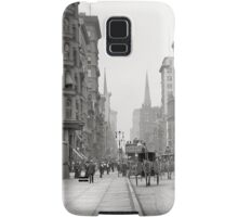 Vintage Fifth Avenue Photograph (1912) Samsung Galaxy Case/Skin