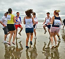 Team 2012 Warm-Up ~ Charmouth, Dorset by Susie Peek