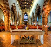 Loughborough Church Altar by Yhun Suarez