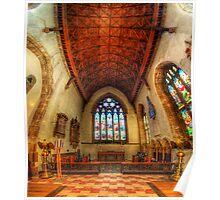 Loughborough Parish Church Altar 2.0 Poster