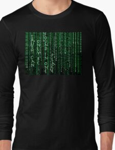 Truth can only be found in one place: the code T-Shirt