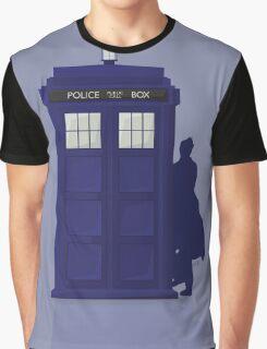 Timey Wimey Tardis Graphic T-Shirt