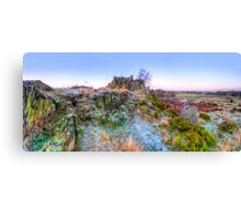 Abbey Road Hill Panorama Canvas Print