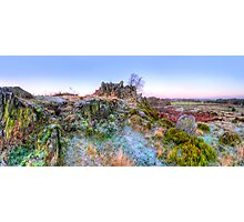 Abbey Road Hill Panorama Photographic Print