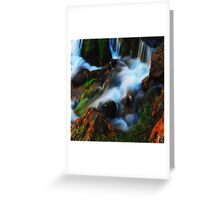 Willow River Falls 3 Greeting Card