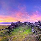 Beacon Hill Sunrise 3.0 Pano by Yhun Suarez