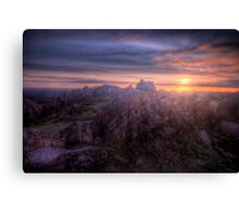Beacon Hill Sunrise 4.0 Canvas Print