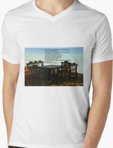 alone Mens V-Neck T-Shirt
