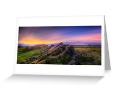 Beacon Hill Sunrise 7.0 Greeting Card