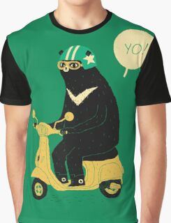scooter bear Graphic T-Shirt