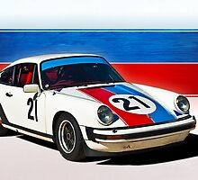 White 1976 Porsche 911 by Stuart Row