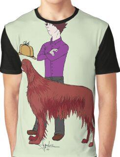 Young Sherlock & Redbeard, Consulting Detectives Graphic T-Shirt