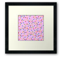It's Sprinkle Time! Framed Print