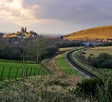 Deserted Railway by Mike Streeter
