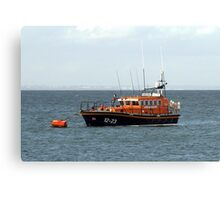 Swanage Lifeboat Canvas Print
