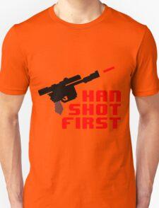 8-bit Han shot first T-Shirt