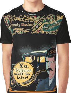 Print The Fresh Doctor Of Baker Street  Graphic T-Shirt