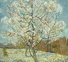 Vincent van Gogh - The Pink Peach Tree by lifetree