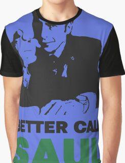 Better Call Saul (Blue) Graphic T-Shirt