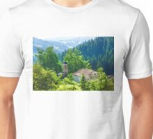 The Village Church - Impressions of Mountains and Forests Unisex T-Shirt