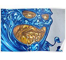 Strange Evil Graffity Creature Poster