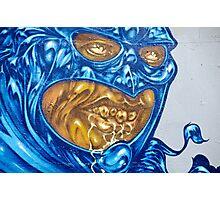 Strange Evil Graffity Creature Photographic Print