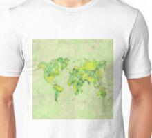 World Green Blue Vintage Unisex T-Shirt