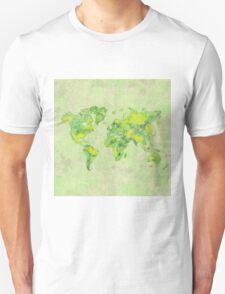 World Green Blue Vintage T-Shirt