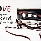 Love Keeps no Record of Wrongs by RebeccaDaisey