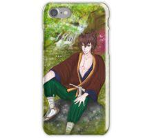 Okita & Japanese Garden iPhone Case/Skin