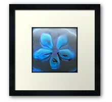 Abstract in Blues XII Framed Print