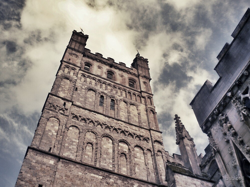 Exeter Cathedral by Claire Elford