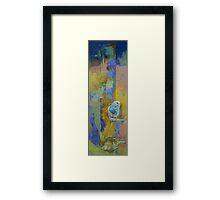 Feng Shui Parakeets Framed Print