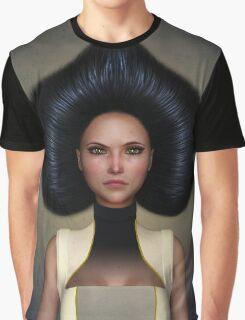 Queen of spades portrait Graphic T-Shirt