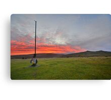 Dartmoor: Christmas Eve Sunrise at Watchet Hill Canvas Print