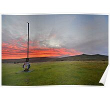 Dartmoor: Christmas Eve Sunrise at Watchet Hill Poster