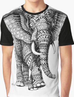 Ornate Elephant v.2 Graphic T-Shirt