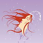 Winter's Snow (red head) by goodedesign