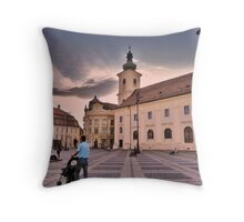 Tranquil Evening Throw Pillow