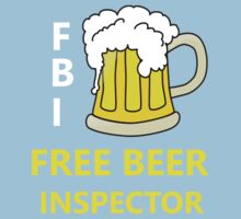FBI Beer One Piece - Short Sleeve