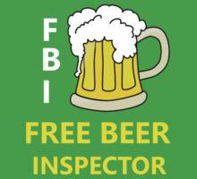 FBI Beer Kids Tee