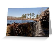 Mill Spill Greeting Card