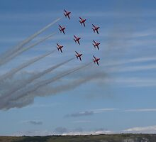Red Arrows Diamond 9 by Mike Streeter