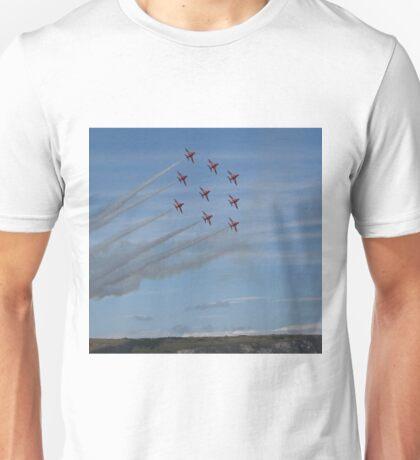 Red Arrows Diamond 9 Unisex T-Shirt