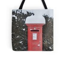 Christmas post box Tote Bag