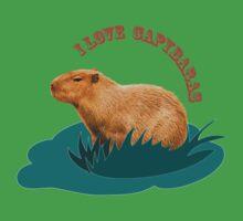 I love capybaras Baby Tee