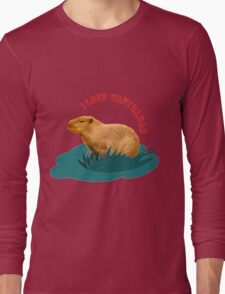 I love capybaras Long Sleeve T-Shirt