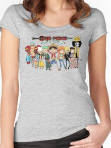 Adventure Time One Piece Women's Fitted Scoop T-Shirt