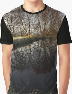 A Country Pond Graphic T-Shirt